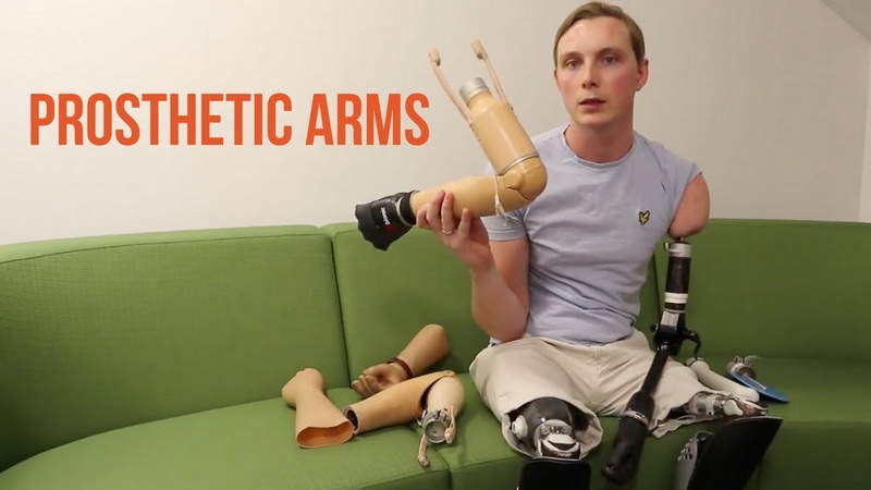 All my Arm Prosthetics by Triple amputee