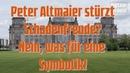 Peter Altmaier stürzt - Schadenfreude? Nein! | Was für eine Symbolik!