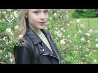 Таня Меженцева на Fashion TV.