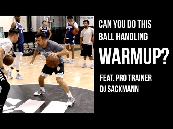 Can You Do This BALL HANDLING WARMUP?? Feat. DJ Sackmann At adidas Nations Camp