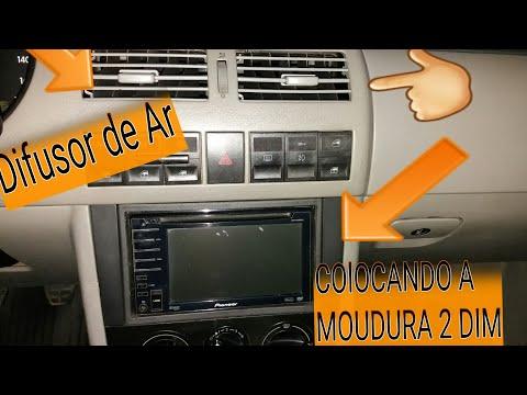 COMO COLOCAR MOUDURA 2 DIM E DIFUSOR DE AR.. GOL G3