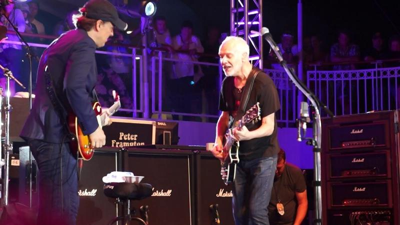 Peter Frampton feat. Joe Bonamassa - While My Guitar Gently Weeps (18.08.2019, NCL Pearl, Med. Sea)