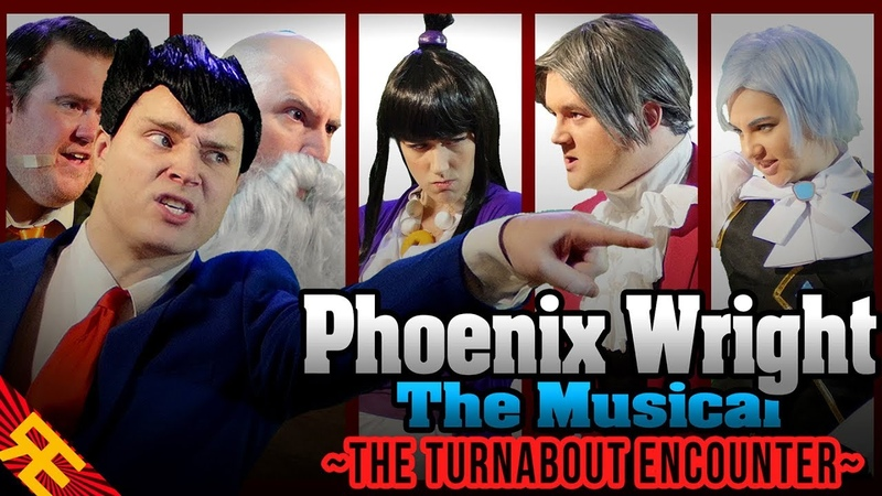 Phoenix Wright the Musical SUPERCUT The Turnabout Encounter