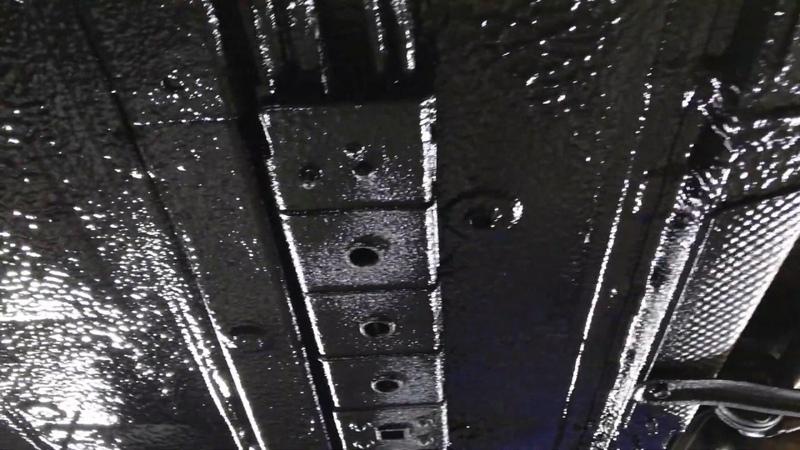 Kia Optima шумка днища снизу (снаружи) без разбора салона. Антикоррозионная, шумоизоляционная защита