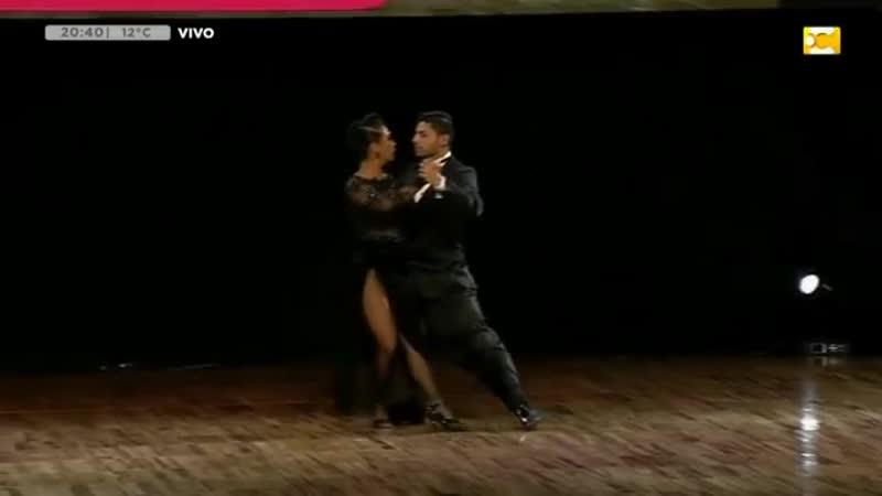 Мундиаль де танго 2019, эсценарио, 5 место, VALENTIN ARIAS DELGADO DIANA PAOLA FRANCO