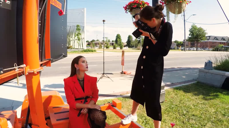 BTS Video of Fashion Shoot by Gagarin Entertainment Media Production