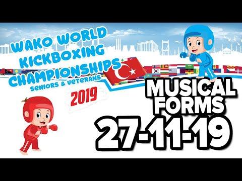WAKO World Championships 2019 Forms Antalya 27 11 19