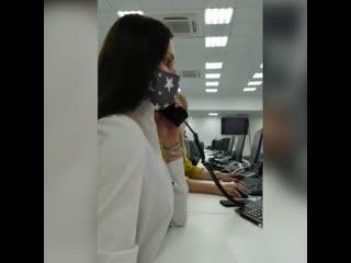 Красноярский колл-центр принимает звонки из районов края