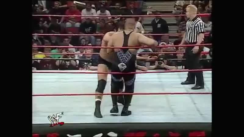 DLo Brown vs Dan Severn King Of The Ring Qualifying Match WWE Raw June 8 1998 Дэн Северн против Брауна 11DeadFace