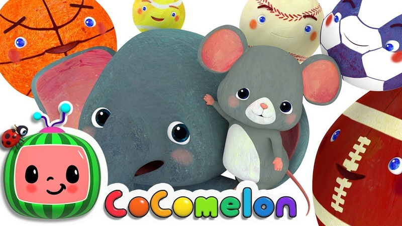 Sports Ball Song | CoCoMelon Nursery Rhymes Kids Songs