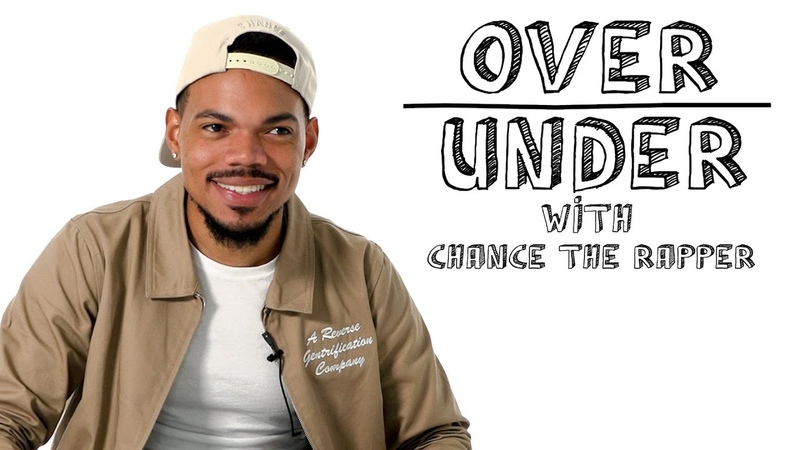 Chance the Rapper Rates Elon Musk Deep Dish and Tattoos Over Under