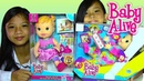 Baby Alive Baby Doll Gets a Boo Boo and Baby Alive Tickles n Cuddles Kids' Toys