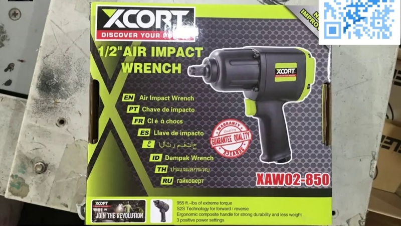 XCORT power tools 1/2 AIR IMPACT WRENCH not bosch makita S2S forwad and reverse IBS extreme torque