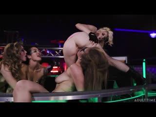 Karla Kush, Charlotte Stokely, Katrina Jade, Lena Paul - Rock You Like A Hurricane - Porno, Lesbian, Porn, Порно