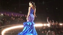 Pia Wurtzbach in evening gown Mock Pageant Miss Universe 2015