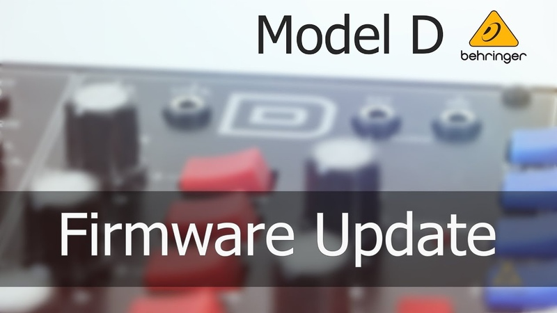Model D How do I update the firmware