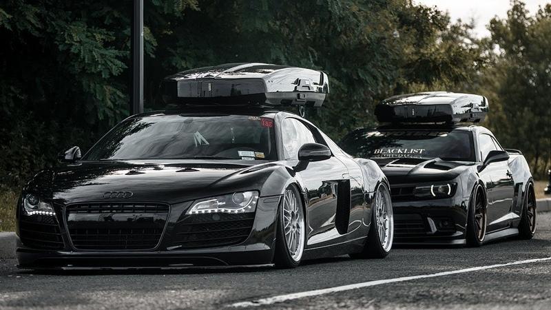 Camaro 1LE VS Audi R8 | ROOFBOX GANG