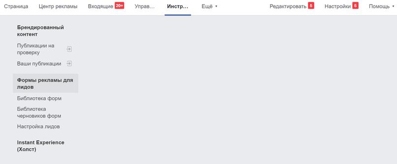 Просмотр заявок в лид-форме Facebook, изображение №4