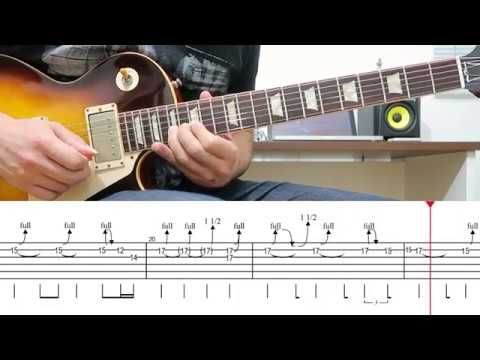 Sweet Child O' Mine Solo 3 Lesson With Tabs