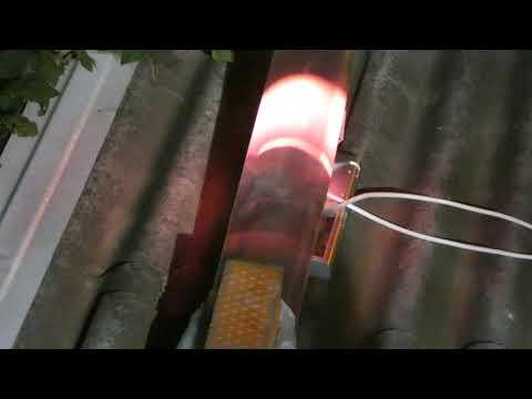 Автоэлектронная эмиссия в ртутной лампе 2 Field emission in a mercury lamp