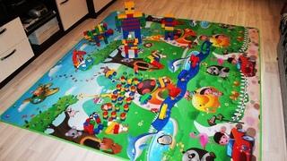 Детский непромокаемый игровой коврик с Алиэкспресс