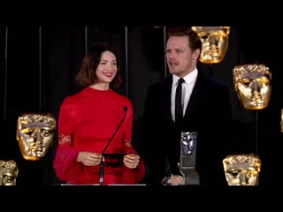 British academy scotland awards 2019 - live from glasgow - sam and caitriona_1_1