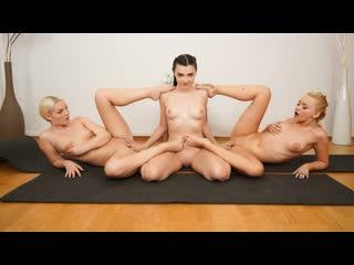 Lovita fate, hayli sanders, marilyn sugar pretty nubiles meditation threesome | lesbian brazzers порно лесбиянки