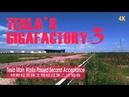 Tesla main works Passed Second Acceptance\Tesla gigafactory 3 in shanghai特斯拉上海超级工厂\4K
