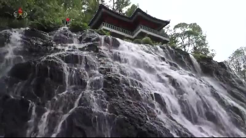 우리 나라의 귀중한 천연기념물들 리명수폭포와 정주은행나무