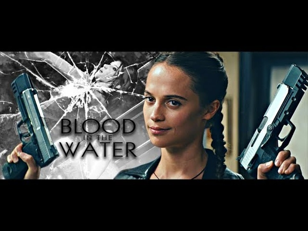 Lara Croft Blood in the Water