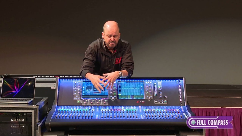Allen Heath dLive S7000 Control Surface and DM64 MixRack Overview Full Compass