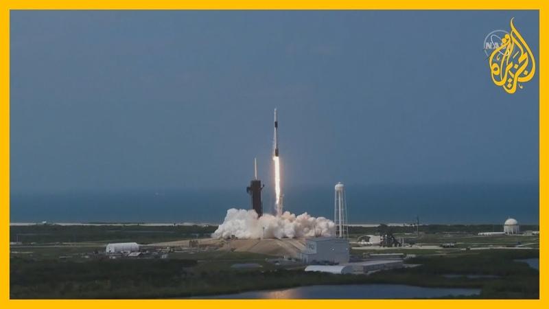 ناسا وسبيس إكس تطلقان بنجاح كبسولة تحمل رائدي فضاء أمريكيين إلى محطة الفضاء في أول رحلة منذ 9 سنوات