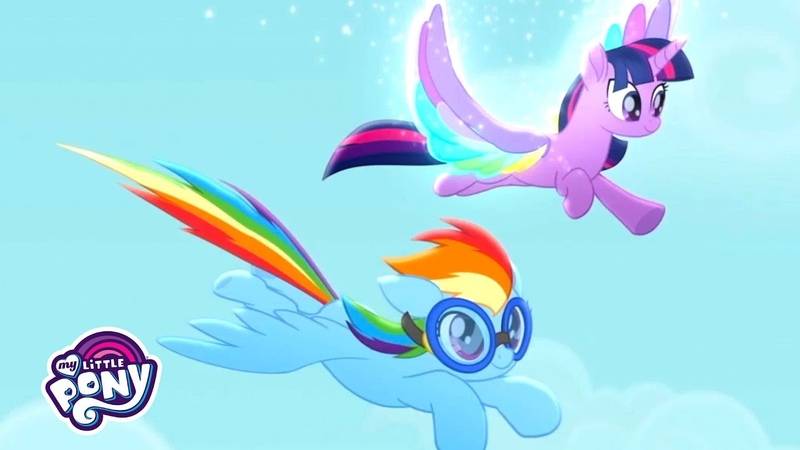 'Living in Color' Sing Along 🌈 My Little Pony Rainbow Roadtrip MusicMonday