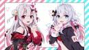 Virtual YouTuber | Nakiri Ayame and Kagura Nana [wallpaper]