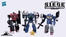 Transformers Siege REFRAKTOR RECONNAISSANCE TEAM 3 PACK Video Review