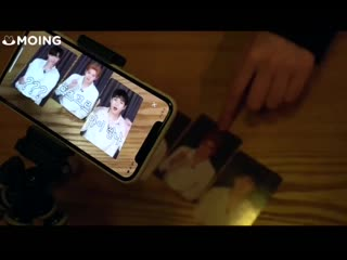 Nu'est already living in 3020 with MERGING AR PHOTOCARDS