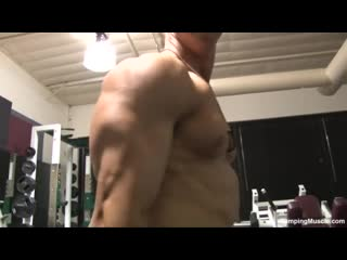 [360]  ZACH T PHOTO SHOOT #1 (Pumping Muscle) (Wrestling)