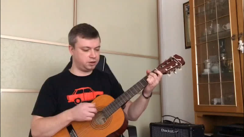Small guitar cover TheRasmus InTheShadows acoustic NotUkulele I'm from Ural Russia