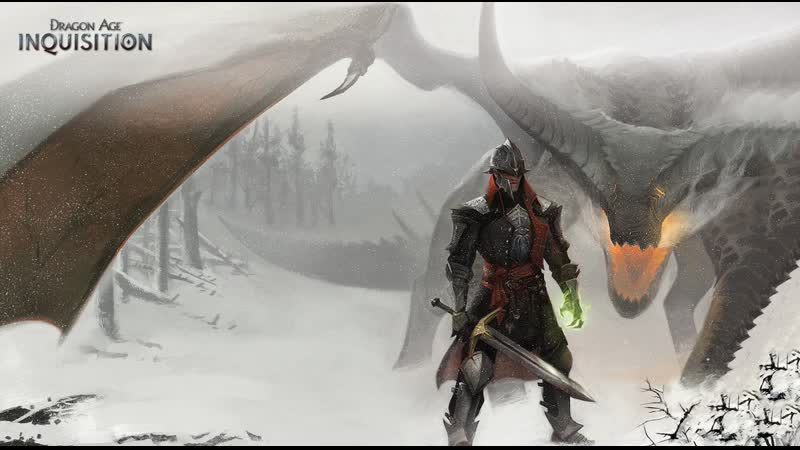 Dragon Age: Inquisition. Соло Инквизитор против дракона