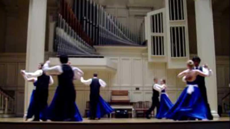 Танец под песню «Однажды в Декабре» (Colgate Ballroom Dancers)