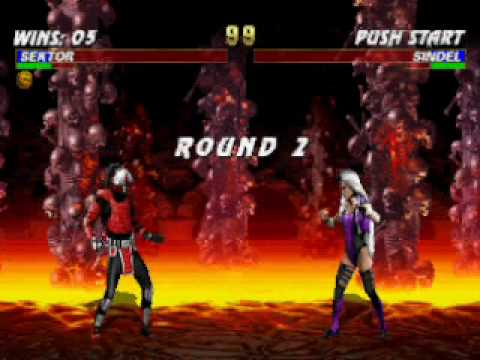 Mortal Kombat Trilogy: Sektor Very Hard Champion Ladder part 1/2