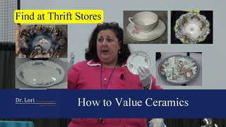 How to Price Antique Dishes, China, Plates Bowls by Dr. Lori