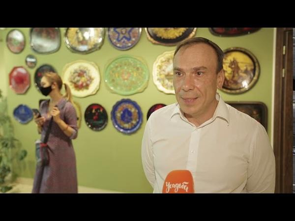 Телеканал Усадьба Пресс тур на Жостовскую фабрику декоративной живописи