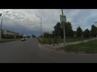 Проезд перекрестка на мигающий зеленый