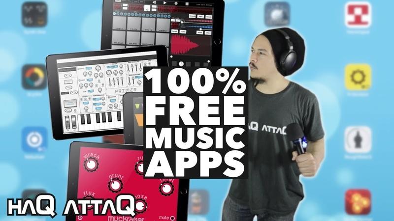 25 FREE Music Making Apps for iOS NO IAP haQ attaQ