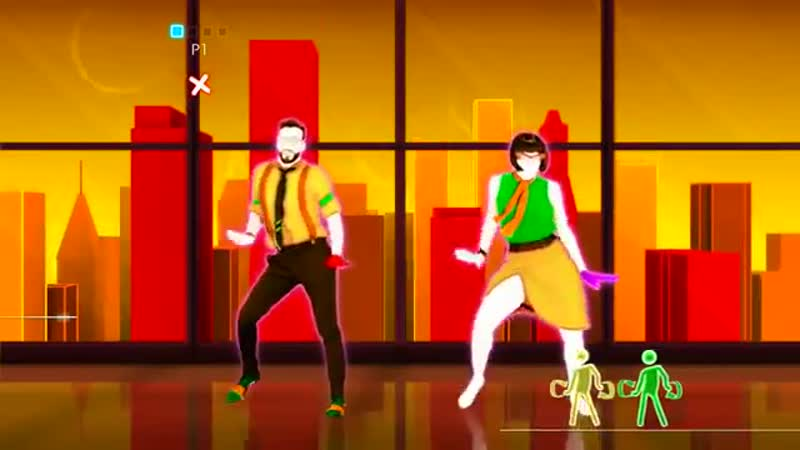 4. Танец Анатоля и деочек - Limbo - Daddy Yankee - Just Dance 2014 (Wii U)