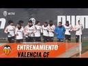VALENCIA CF| EL EQUIPO SE PREPARA PARA EL PARTIDO DE MAÑANA ANTE EL SD EIBAR