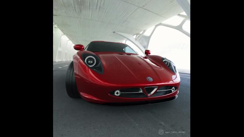 Alfa Romeo NIVOLA by Ugur Sahin Desing