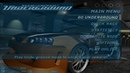 Need for Speed Underground 2003 main menu Get low ULTRA HD