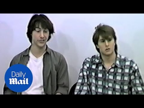 EXCLUSIVE never before seen Bill and Ted auditions Keanu Reeves and Matt Adler